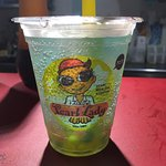 Ramune Soda with Colorful Boba