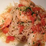 Shrimp Scampi with GF Pasta