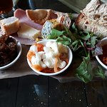 Mezzo and ploughman's platter at the royal hotel kirkby lonsdale