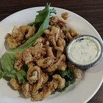 Fried clam appetizer - very generous portion!