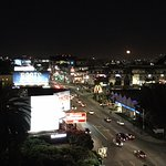 View from the room- Sunset Blvd
