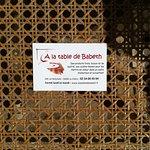 Photo of A la Table de Babeth