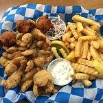 Fried Lake Okeechobee Catfish Platter