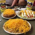 Three Way, Cony Island dogs, and chili nachos
