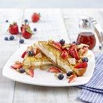 Berry Cheesecake Stuffed French Toast