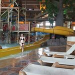 One angle of the water park.