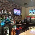 The bar area at the Wilmington Island restaurant.