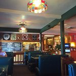 Mrs Q's in Medford. Old fashioned diner.