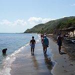 shipwreck bar 15 min walk down the beach