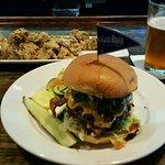 Solid burger, Nolan Ryan beef & grilled jalapeños