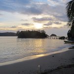 View from Coiba Ranger Station