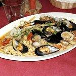 Linguine ai frutti di mare...buonissime