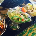 The best ceviche dish on the planet....pictured left to right; Nikkei, Key West, Mojito & Peruvi