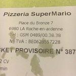 Foto van Pizzeria Super Mario