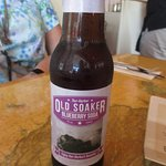 The local blueberry soda.