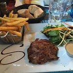 Bavette sauce au poivre (plat du menu à 19€90)