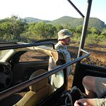 Ronnie the great Safari Guide