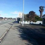 Street view of the Pie Shop - Renwick Butchers & Bakery