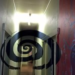 The hallway of spiraling infinity...