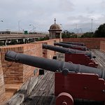 Cannons on the fort