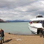 Estancia Cristina, Patagonia (Argentina) - arriving by boat