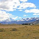 Estancia Cristina, Patagonia (Argentina) - showing the vast expanses & barren-ness
