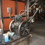 Estancia Cristina, Patagonia (Argentina) - old engine