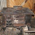 Estancia Cristina, Patagonia (Argentina) - old stove