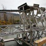 Estancia Cristina, Patagonia (Argentina) - their water wheel