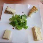 Cheese plate for desert. It was quite good and goes well with an extra portion of bread