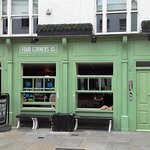 Four Corners Cafe - Lower Marsh, London SE1 (13/Aug/16).
