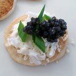 7. Caviar on pancake