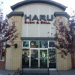 Main entrance at Haru restaurant