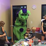 Great place for a children's birthday party! We had my grandsons party here and everyone loved i