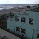 Unfortunate view of run down hotel next to the BW Daytona Inn Seabreeze