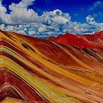 Rainbow mountain vinicunca Peru