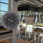 Hoberman Sphere near lobby