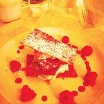Napoleon with fresh berries & a lemon lime mascarpone cream!