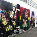 Street mural on Dauphin Street Mobile, AL