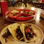 Tacos at the restaurant.