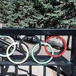Überall die olympischen RInge