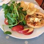 Lovely lunch in beautiful Exmoor xx