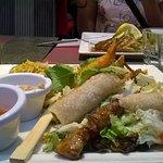 Assiette thaï