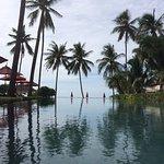 Très belle piscine... Indéniablement, le seul point fort de cet hôtel !