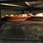 Cochinillos en horno de leña