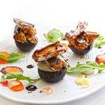 Filets de maquereau marinés, rillette au raifort