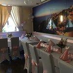 Tischdeko für Hochzeit ist schön Fertig!