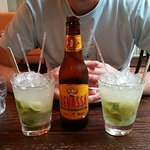 2-for-1 Caipirinhas and Happy Hour beer an unexpected bonus!