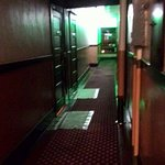 Creepy hall ways, dark dingy rooms