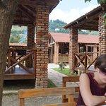 дворик и бар